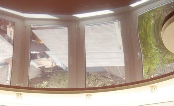 10 Криволинейные натяжные потолки фото